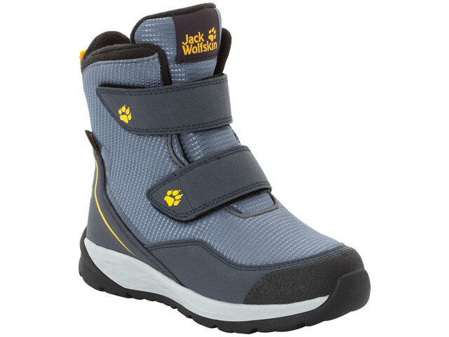 buy popular ad15a 224b2 Jack Wolfskin Polar Bear Texapore High VC Schuhe Kinder pebble grey/burly  yellow XT